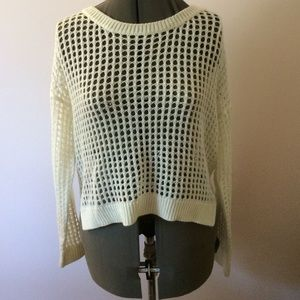 Loosely knit sweater