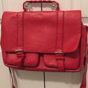 H&M red crossbody bag