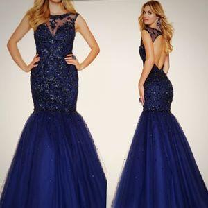 Mori Lee Dresses & Skirts - ‼️Sequin Mori Lee Open Back Mermaid Prom Dress ‼️