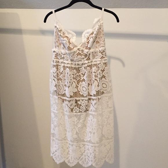 4c91138437 For Love and Lemons Midi Length Gianna Dress
