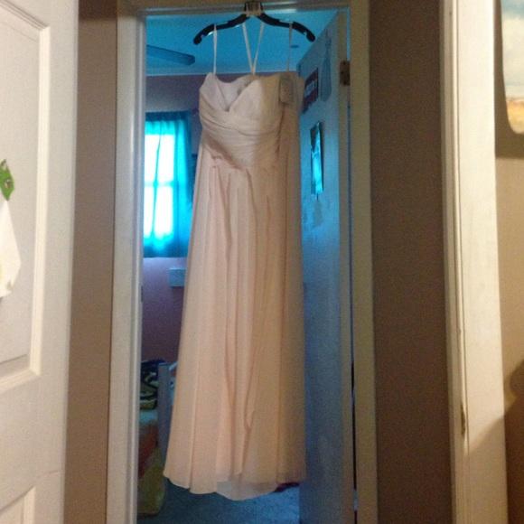 Davids Bridal Dress Size 22 Angel Color