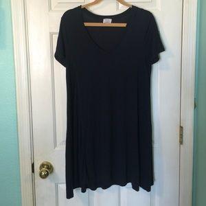 Zara Basic Tee Dress