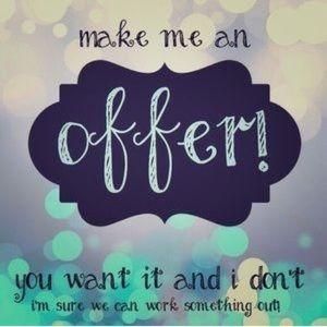 ✨✨MAKE ME AN OFFER✨✨