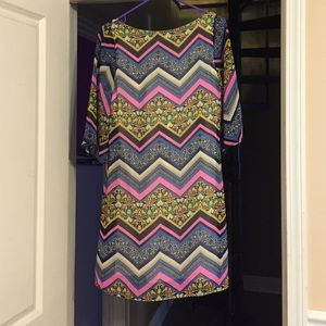 Multi Color Pretty Dress