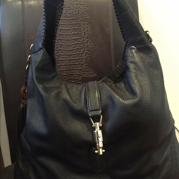 Gucci Bags   10 Off Jackie Large Soft Leather Hobo   Poshmark 8a6563a128