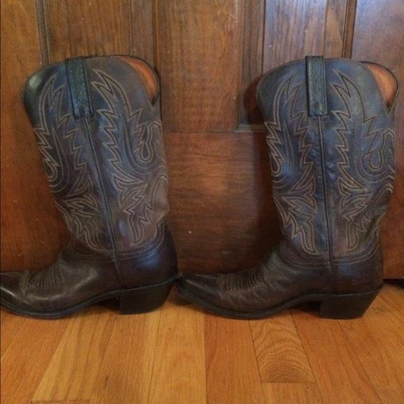 3afc8e7ae95 Custom handmade Lucchese cowboy boots