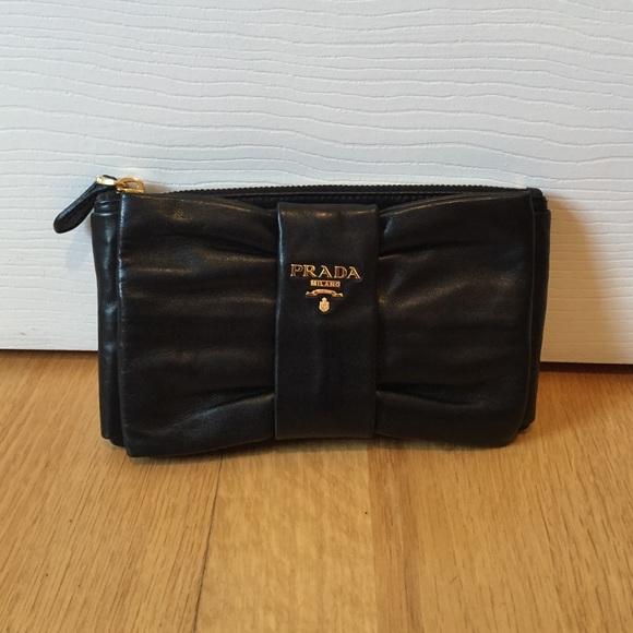 2374215f031b Prada Bags | Bow Clutch | Poshmark