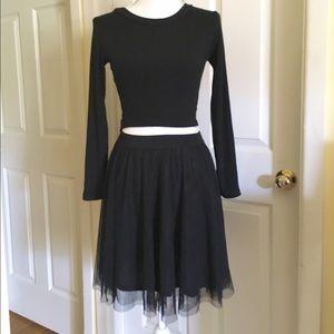 b2608e183 Lauren Conrad Skirts - 🎉HOST PICK 🎉 Lauren Conrad Black Tulle Skirt
