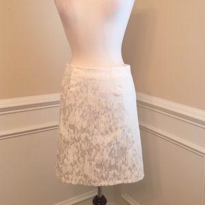 NEW Beautiful Sateen Skirt Medium