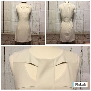 Forever 21 Classic Tan Cut Out Dress