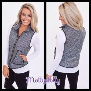❣NEW❣ Herringbone Quilted Light Weight Summer Vest