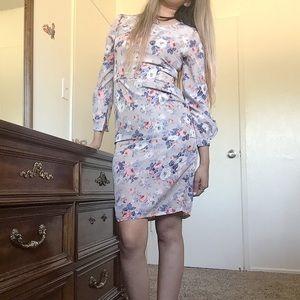 Floral Midi Length Dress