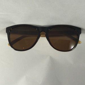 NWOT bamboo/wooden sunglasses