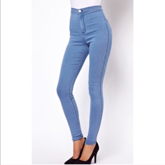66984cf5028b High waisted stretchy jeans size 5