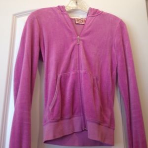 Juicy Couture Jackets & Coats - Juicy Couture Velour Jacket