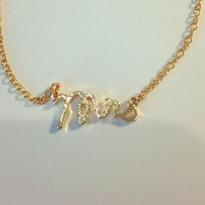 Jewelry - MRS necklace •NEW•