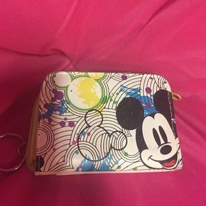 Mini Mickey Mouse wallet