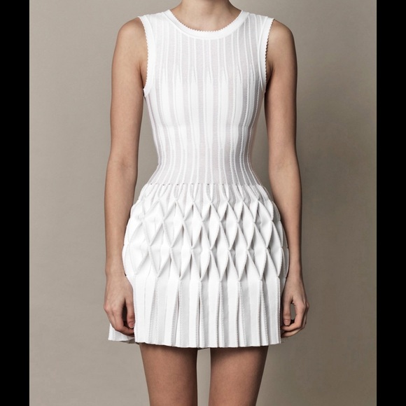 e31c5910cbb Alala Dresses   Skirts - 🚩SOLD🚩AZZEDINE ALAIA ORIGAMI PLEATED DRESS SZ 38