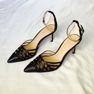❤️HP!❤️ Ann Taylor Black Pumps