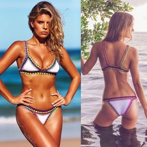 Crochet Neoprene Bikini : 76% off KIINI Other - KIINI white crochet neoprene bikini - M from ...