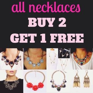 ALL JEWELRY BUY 2 get 1 FREE