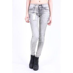 G-Star Jeans - Midge Cody Mid Skinny Slander Flint Super Stretch