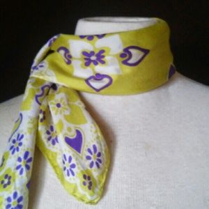 2for1 80s Silk Scarf