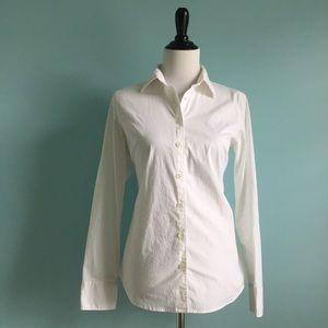 J. Crew Tops - J. Crew White Dress Shirt