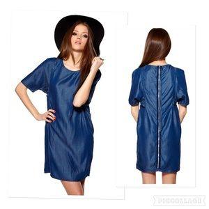Acne Dresses & Skirts - Acne 'seagull denim' tencel dress