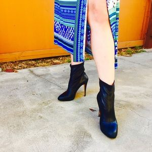 Brian Atwood Shoes - Brian Atwood leather booties-so sexy ❤️