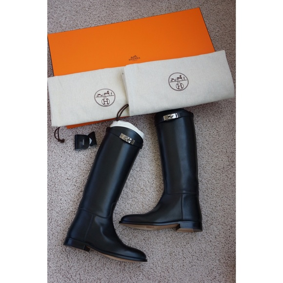 Hermès Jumping Leather Boots