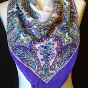2for1 SILK Crepe Scarf