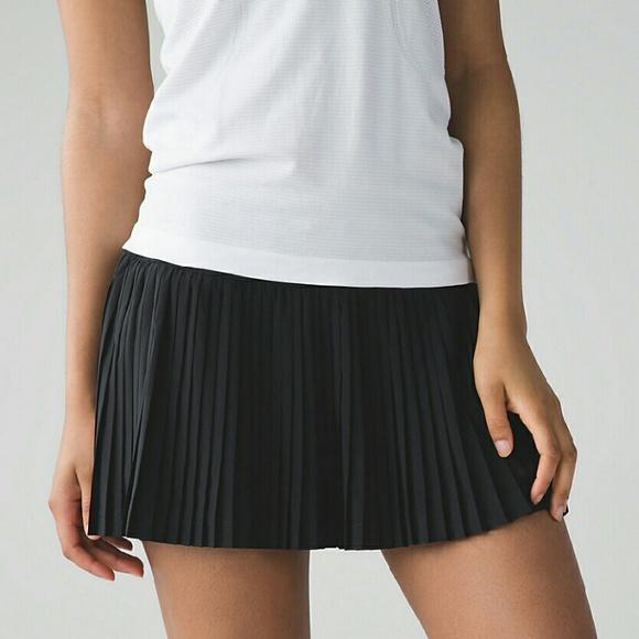e4c7f76505 lululemon athletica Skirts | Reserved Nwt Lululemon Pleat To Street ...