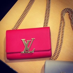 Authentic Louis Vuitton Cherry Red Shoulder Bag