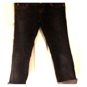 SALE! American Eagle boyfriend crop jeans!