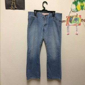 Romance brand cropped jeans size 9