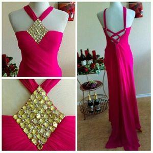 Mori Lee Dresses & Skirts - ⬇Mori Lee Simple Glitz Prom Gown