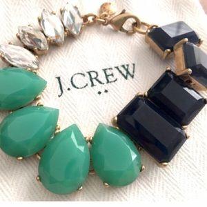 J. Crew Jewelry - J.Crew Navy & Mint Bracelet