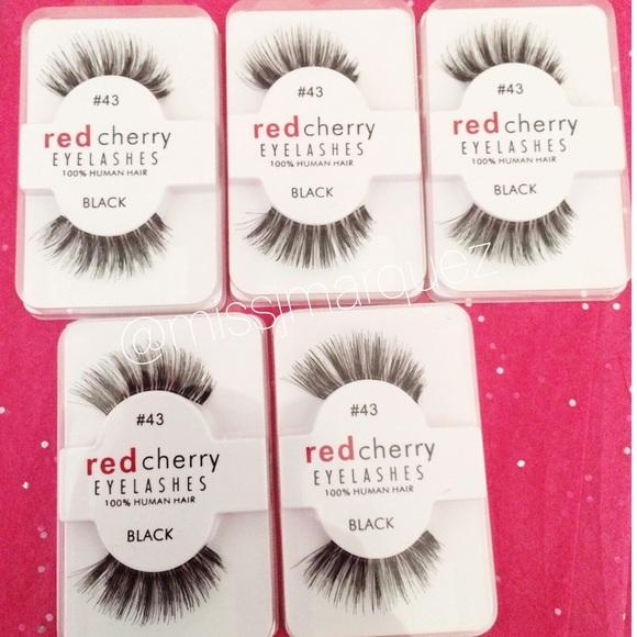 Red Cherry Lashes Makeup 43 5 Pairs Poshmark