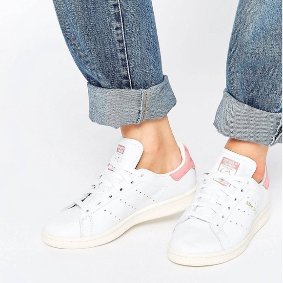 Adidas Stan Smith Suede Pink