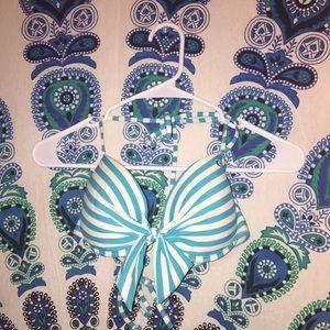 Bikini Nation Other - Blue stripes Padded bikini top
