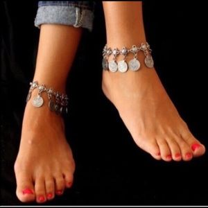 Child of Wild Jewelry - Boho Turkish Coin Anklet
