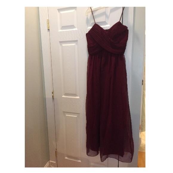 Group USA Dresses & Skirts | Group USA Burgundy Dress | Poshmark