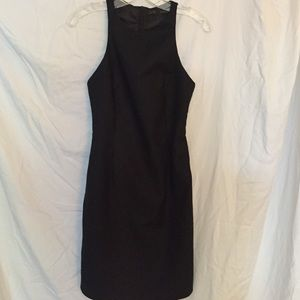 Zara Black Racerback Dress