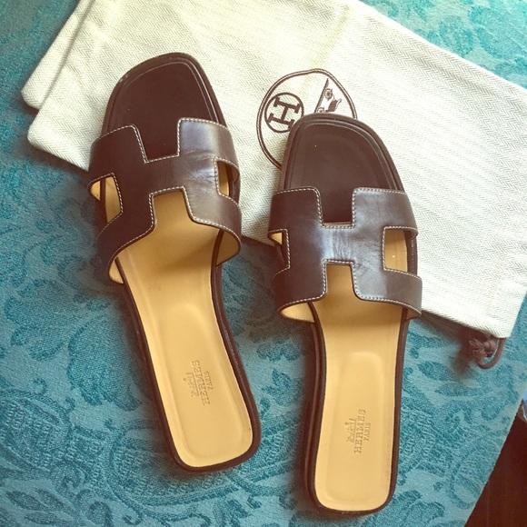 2246df239f8a Hermes Shoes - Authentic Hermes ladies Oran sandals! ✨✨✨