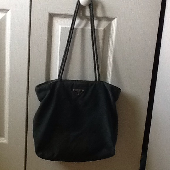 vintage green prada purse