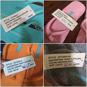 da3320680 Mella Shoes - Mella terry cloth flip flops