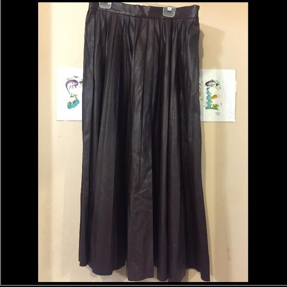 20 zara dresses skirts zara leather pleated skirt