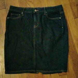 Gap Skirts - GAP Denim pencil skirt.