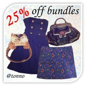 25% OFF BUNDLES